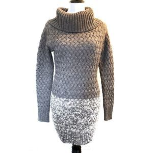 American Eagle Cable Knit Sweater Dress